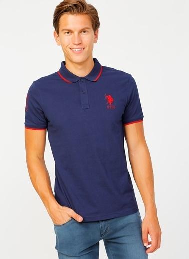 U.S. Polo Assn. U.S. Polo Assn. Slim Fit Erkek T-Shirt Lacivert